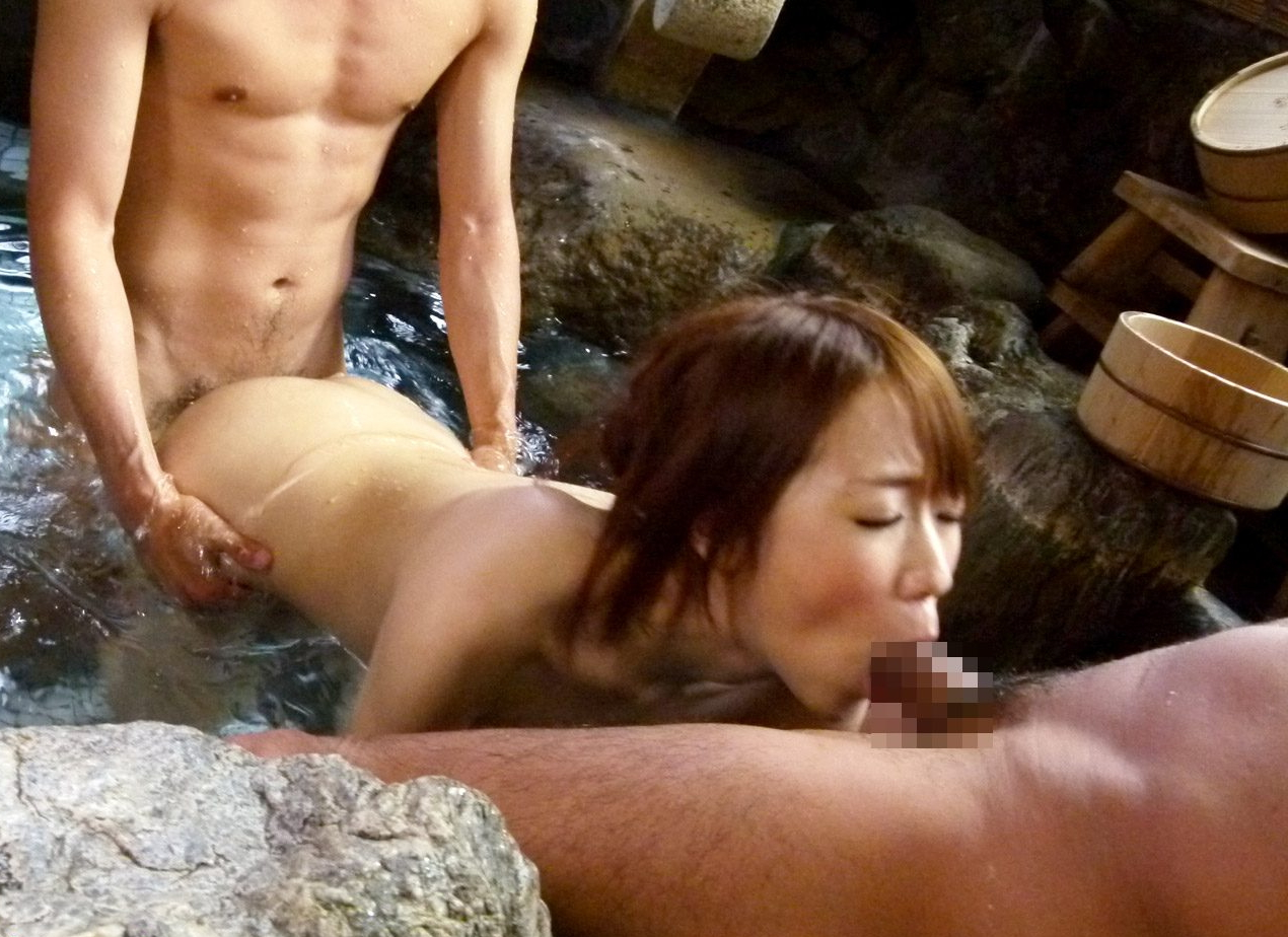 混 浴 露 天 風 呂 で 稀 に 遭 遇 す る 奇 跡。(※画像あり※) 02