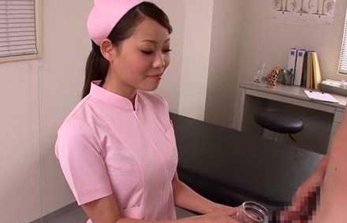 射精できない患者にオナホを使う看護婦「中に出して!」シャカシャカして発射 02
