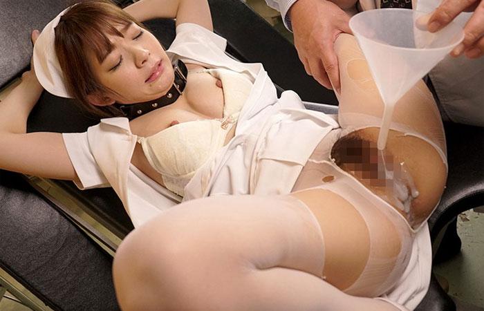 【三次エロ動画】絶倫中出し恥辱の餌食にされてしまった美人ナース!