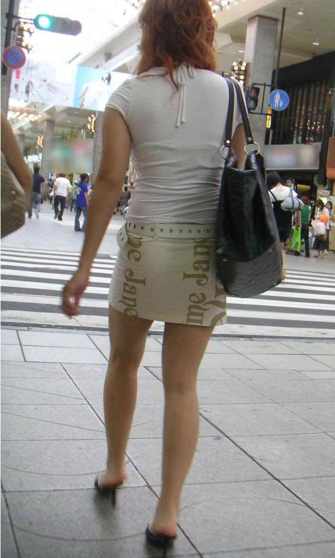 【美脚エロ画像】寒いなら撫でてあげたい!太ももそそる街のミニスカ美脚www 13