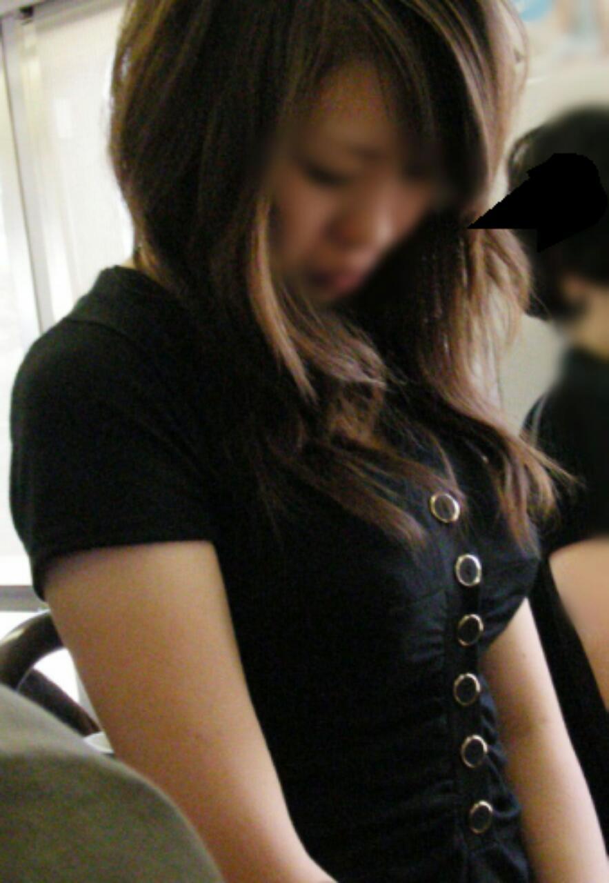 【巨乳エロ画像】お淑やかでも胸は攻撃的w静かに攻めてる着衣おっぱいwww 05