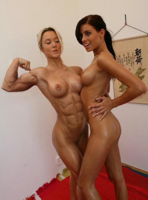 【腹筋エロ画像】弛み切ってるよりもイイ!今流行りな腹筋美女の裸体www 07