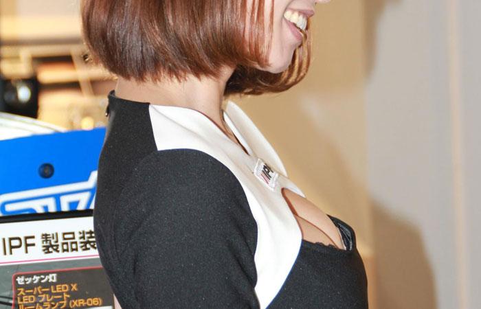 【キャンギャルエロ画像】イベントには不可欠!乳のそそるキャンギャル達www 001