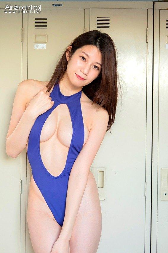元ミスユニバース福岡候補の完璧ボディ藤木美咲、下着が透けてワレメ露出wwwwwww