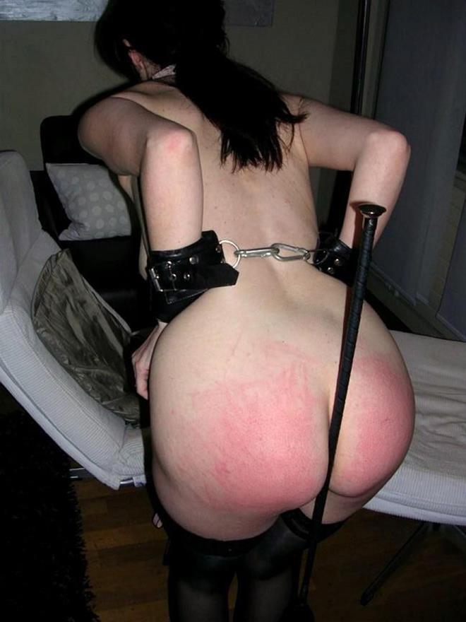 【SMエロ画像】美尻だったのに痛そう…スパンキング食らい過ぎたM女の尻www 10