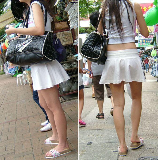 【美脚エロ画像】街へ行けば漏れなく遭遇w見てて飽きない現代女性の美脚www 12