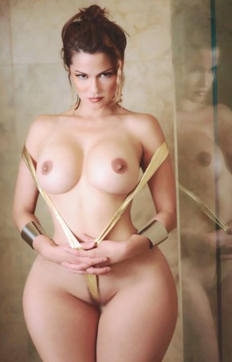 【巨尻エロ画像】まるで土偶…腰とお尻のサイズ差凄まじい海外美女たちwww 03