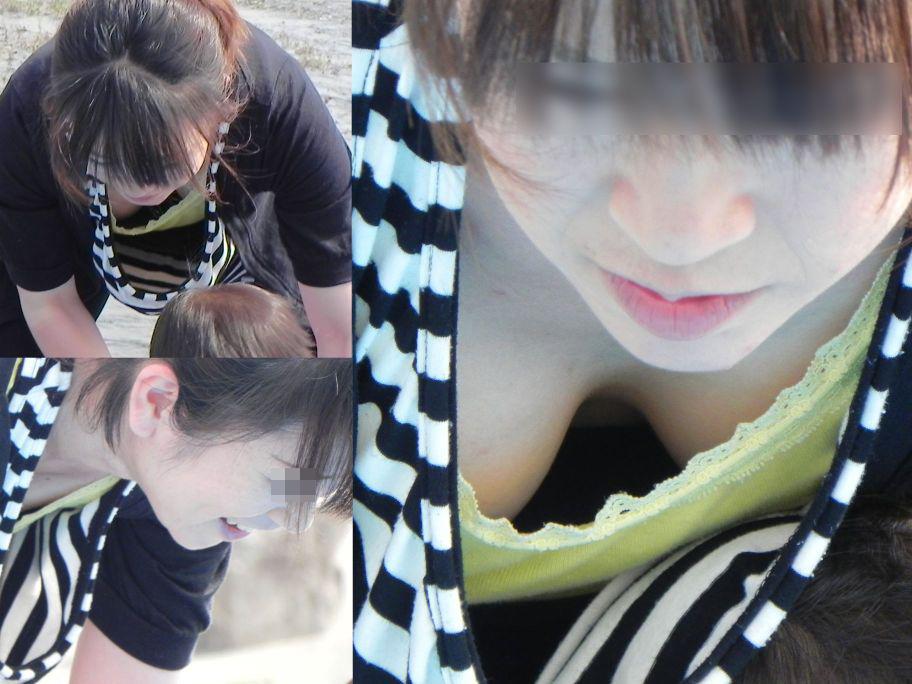 【胸チラエロ画像】薄着はチャンス!夏はどこでも膨らみ覗ける絶好の季節www 13