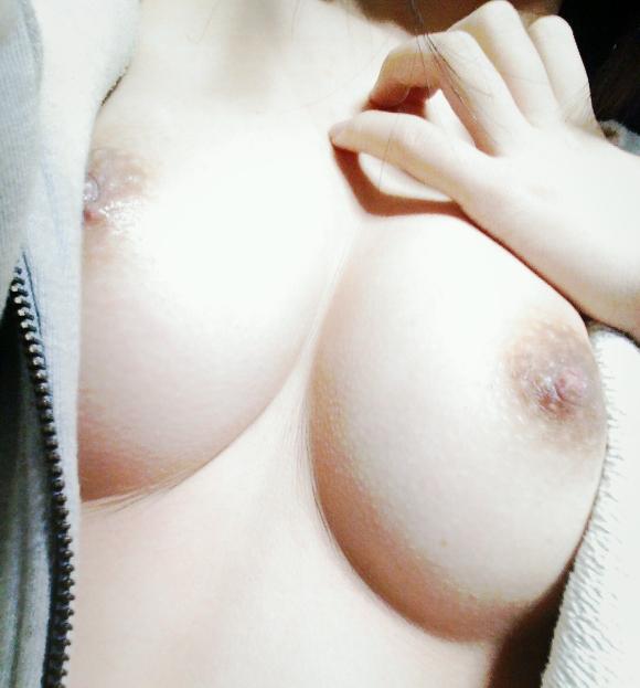 【自撮りエロ画像】イイ乳だ…見知らぬ誰かが晒してくれた抜ける自撮り巨乳www 05