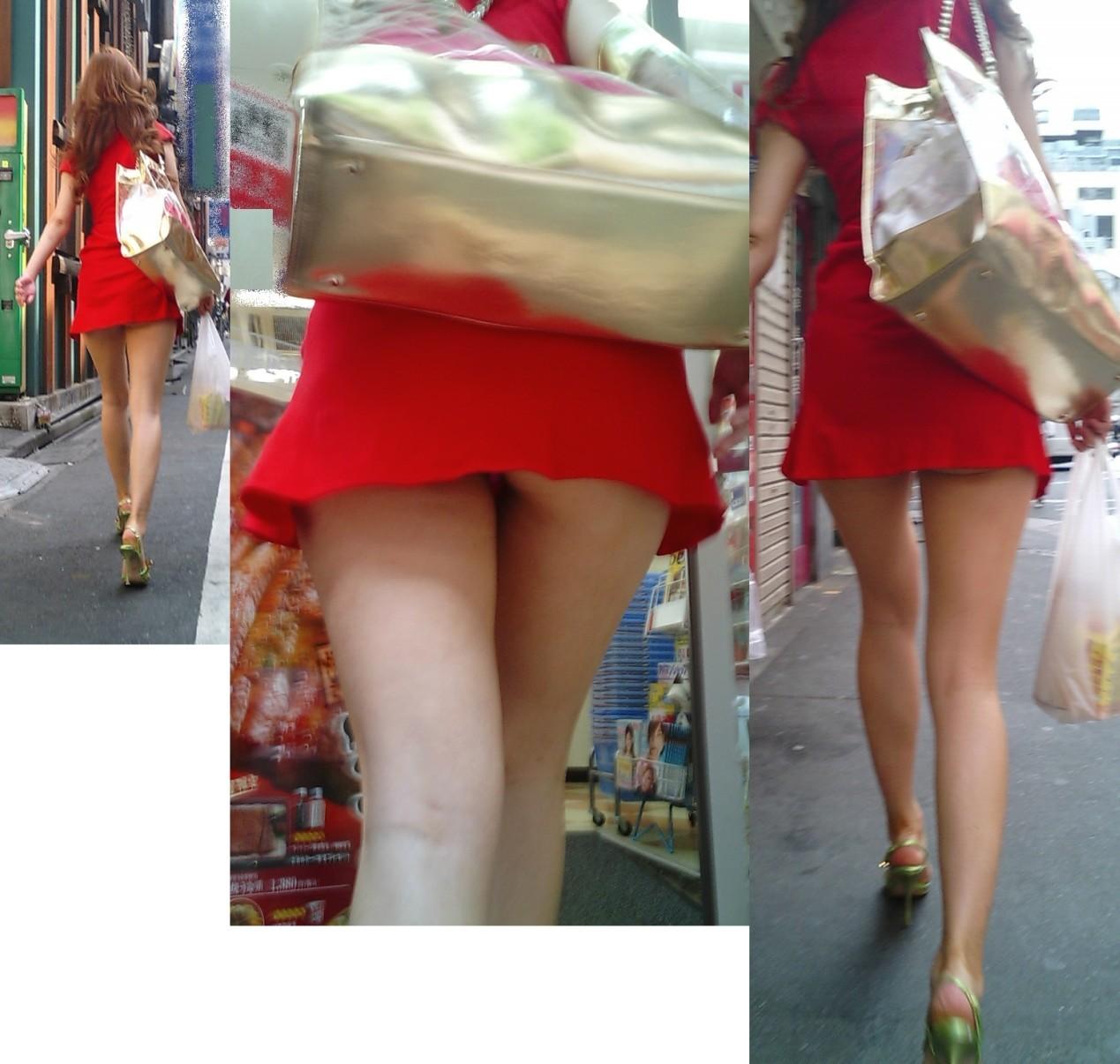 【ミニスカエロ画像】放っておいても尻チラにパンチラ!注目必至な超ミニ履いた下半身www 08