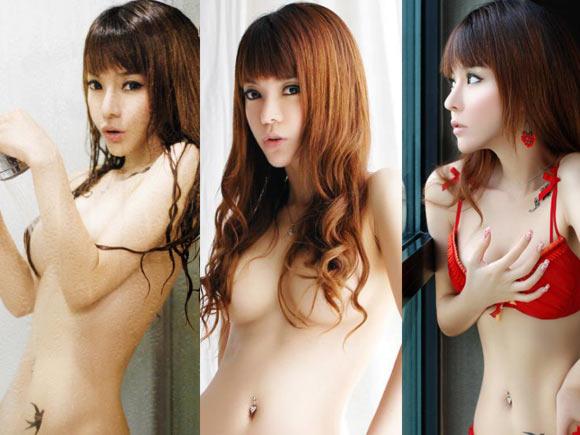 フォトショマジック炸裂してるけど可愛いしエロい台湾人の美女画像