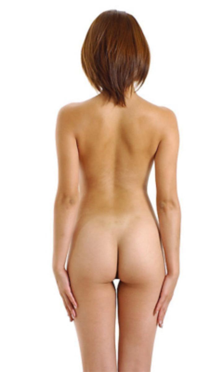 【背中エロ画像】舐め回してみたい…肌艶綺麗で淫靡な女の裸の後ろ側www 03