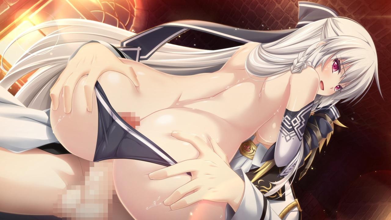 【二次エロ画像】ハメるよりも快感なワレメ!暴発必至な美尻コキwww 03