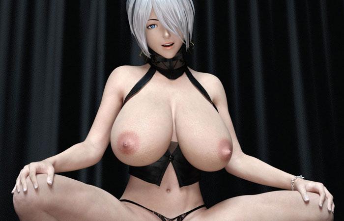 【二次エロ画像】本物みたい…リアルな見た目がたまらない最新鋭CGの女体と痴態www 001