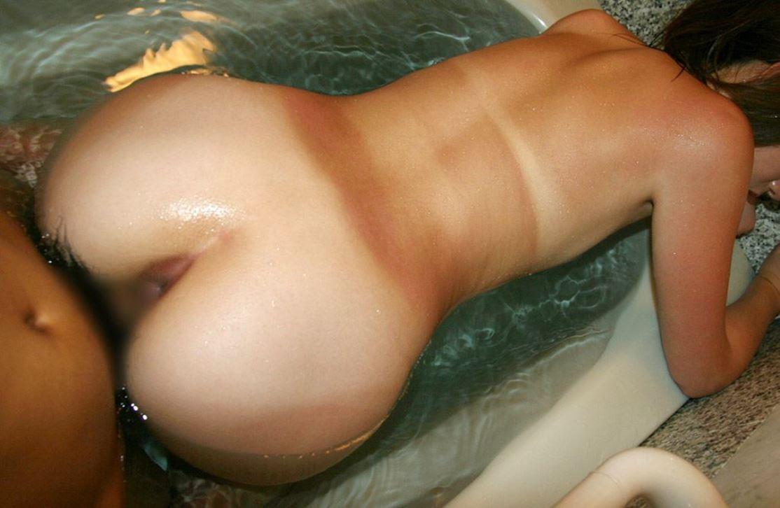 【性交エロ画像】男だけが直で見られる!生々しくて興奮する結合部アップwww 03