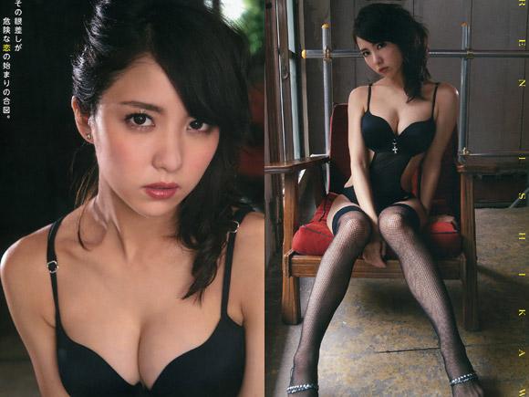 愛人のような変態下着の石川恋(22)が超エロい。画像×15