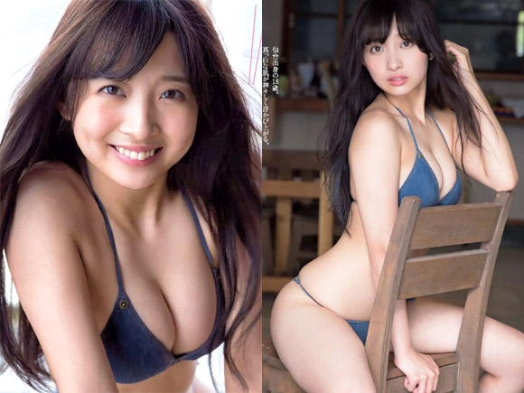 SUPER☆GiRLSの逸材!渡邉幸愛(19)のグラビア画像×42