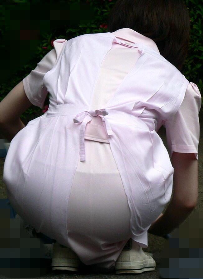 【ナースエロ画像】控えめそうで実は…看護師たちのエロ要素探しwww 08
