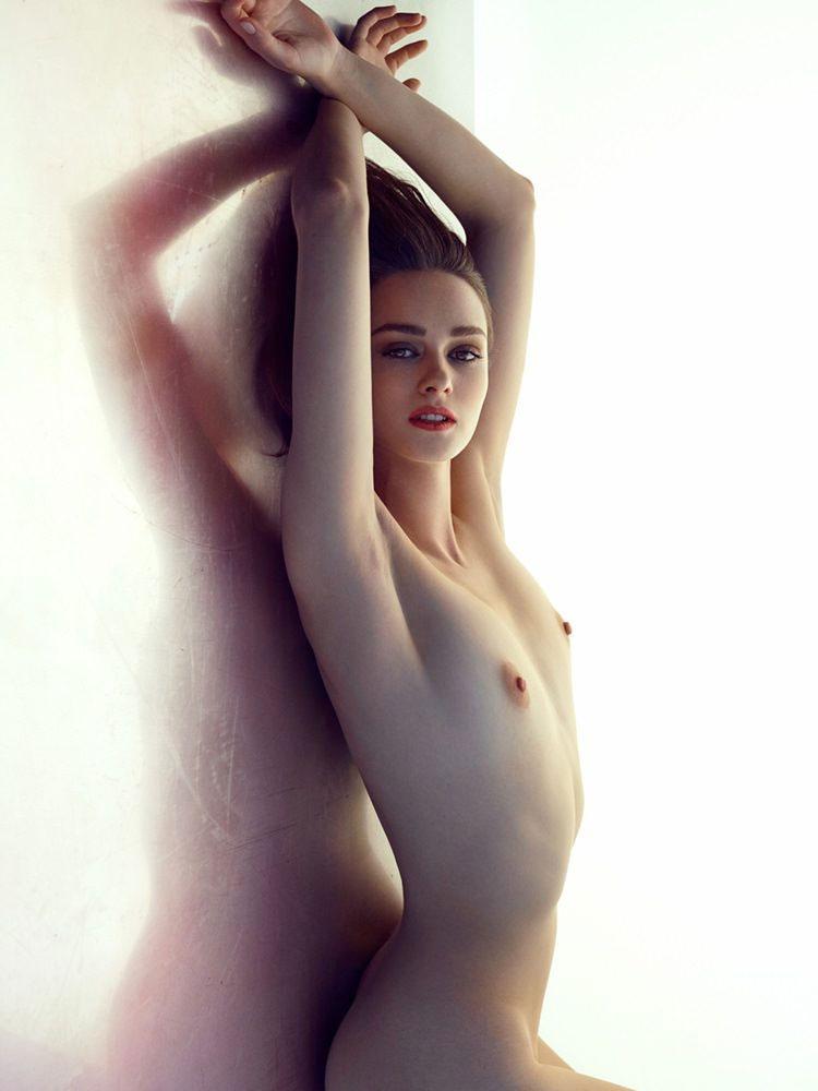【貧乳エロ画像】デカくなくても最高!スリムさが素敵な貧乳海外美女www 04