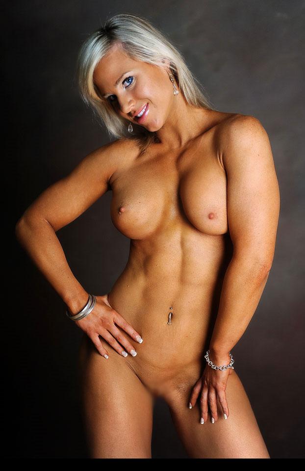 【腹筋エロ画像】なぞってみたいその分かれ目w腹筋素晴らしき筋肉美女たちwww 11
