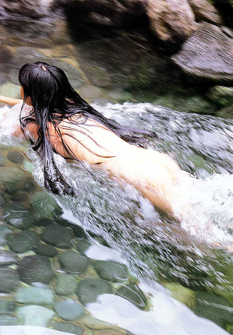 【温泉エロ画像】これもいわゆる露出w露天風呂でのヌード記念撮影www 13