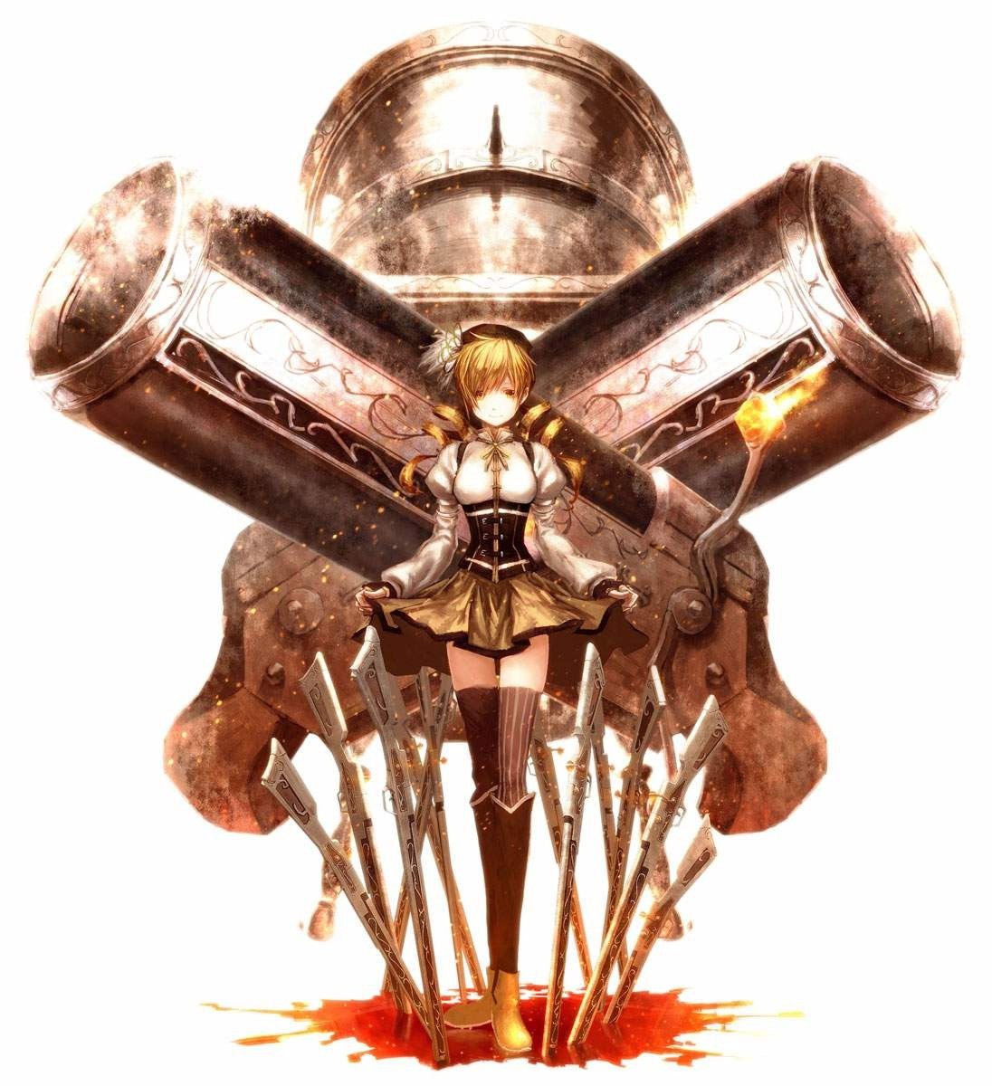 【アームズガールエロ画像】武器持った美少女に胸がトキメク男子に贈る二次元イラストまとめ! 24