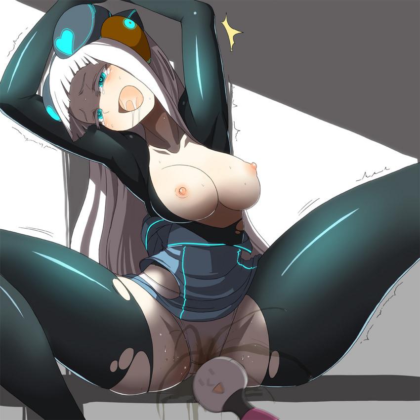 【電マエロ画像】腰がガクガクなるほど刺激されてアヘる寸前のイラストまとめ!w 05