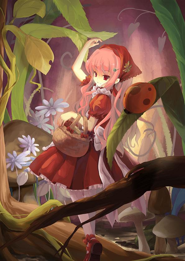 【赤ずきんエロ画像】赤ずきんちゃんになるとどのキャラも胸キュン美少女になる不思議www 15