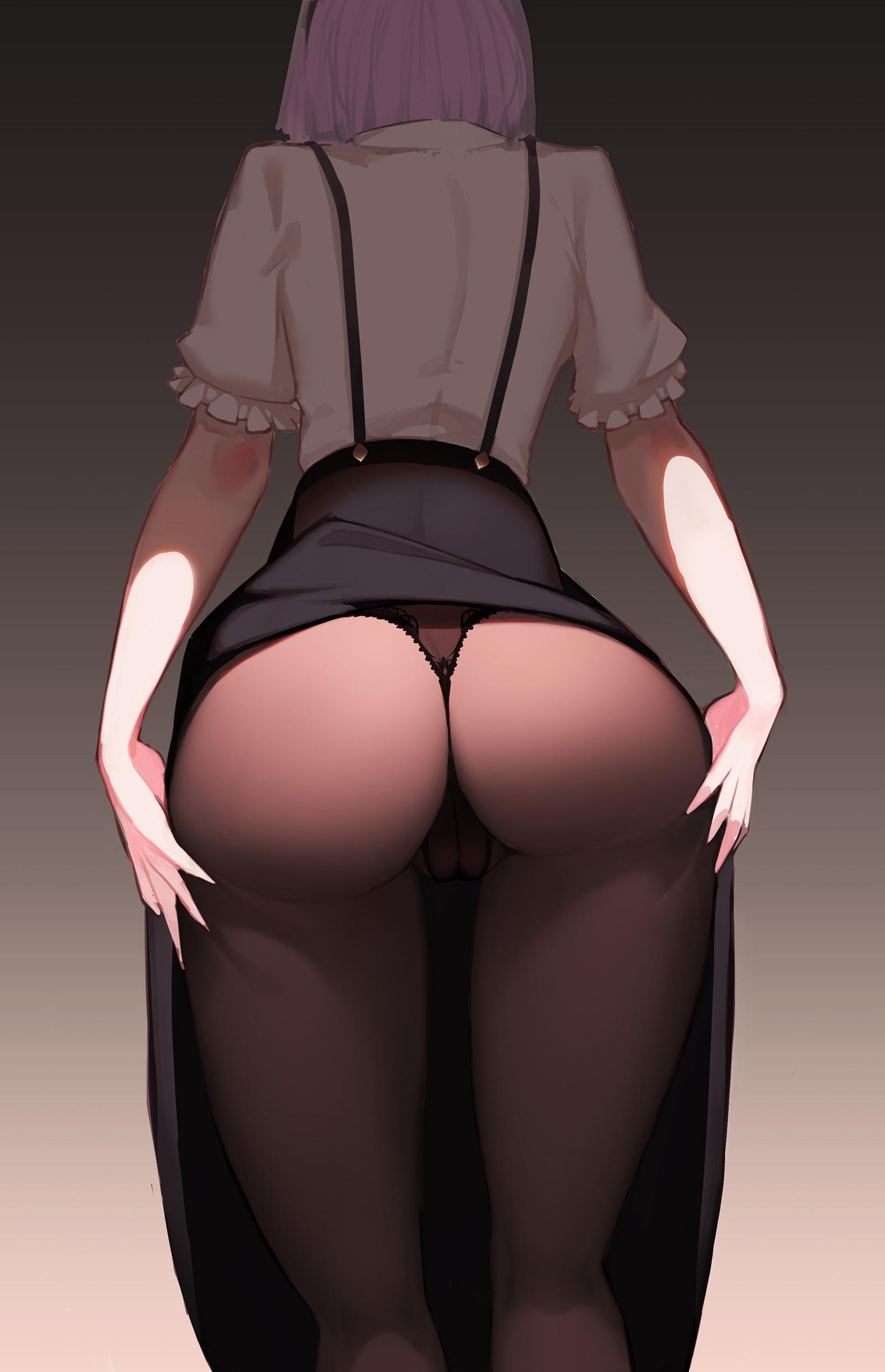 【お尻エロ画像】美尻よりも、お尻と呼びたくなる可愛い二次元イラストまとめ!w 31