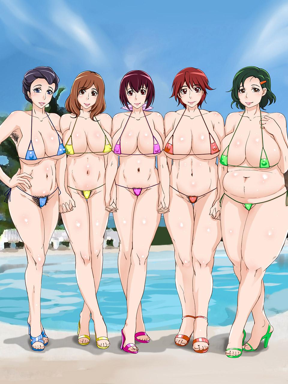 【熟女エロ画像】イラストなのに色気をプンプンと漂わせてくる妖艶な人妻たちwww 17