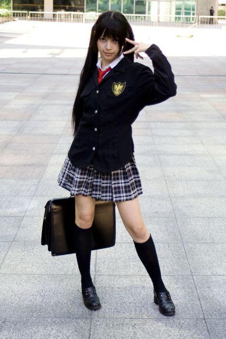 【外国人エロ画像】海外の女性が着るセーラー服のコスプレ感とエロさwww 30