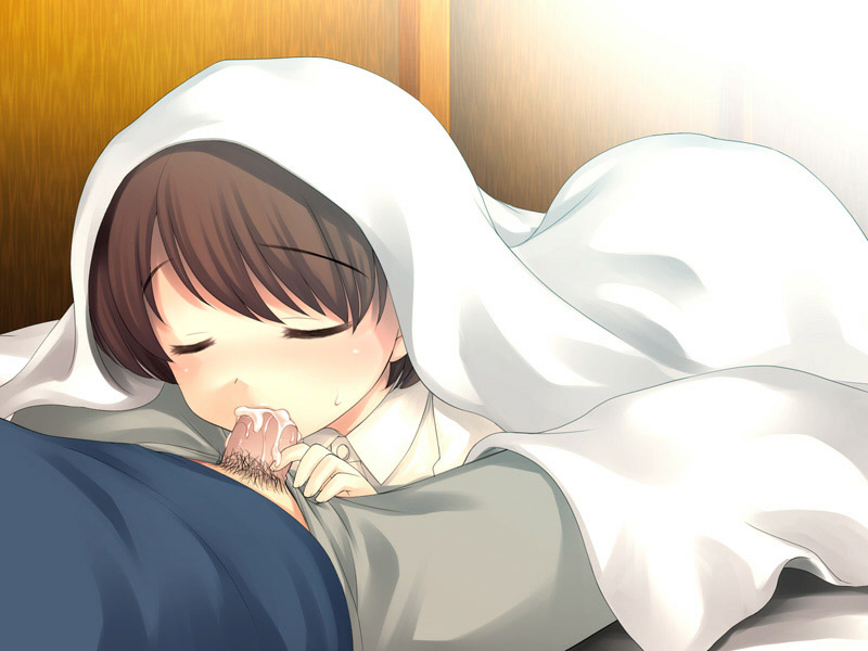 【朝フェラエロ画像】寝起きにフェラで起こしてくれる嫁か義妹が欲しいです!!! 05