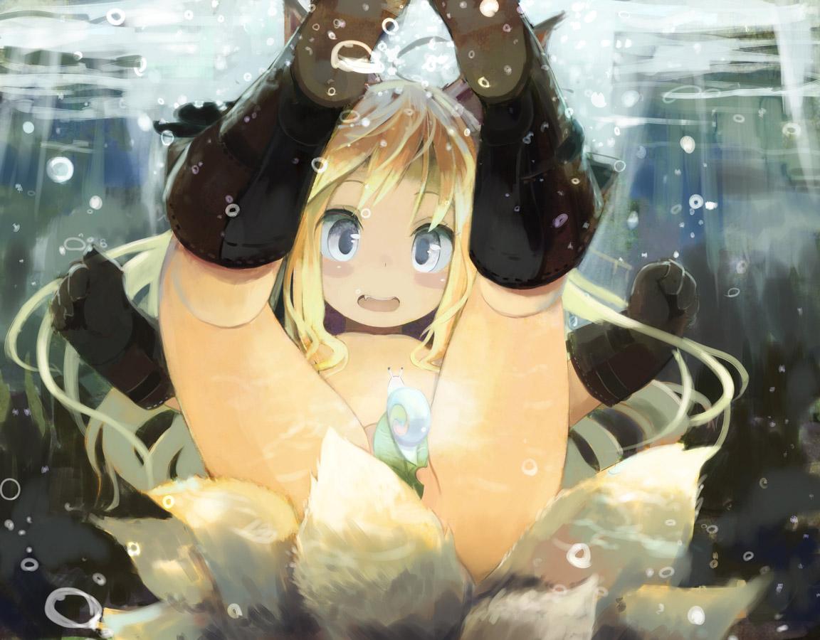 【水中エロ画像】プールや海でチャプチャプアンアンしている青姦セックスイラスト集! 34
