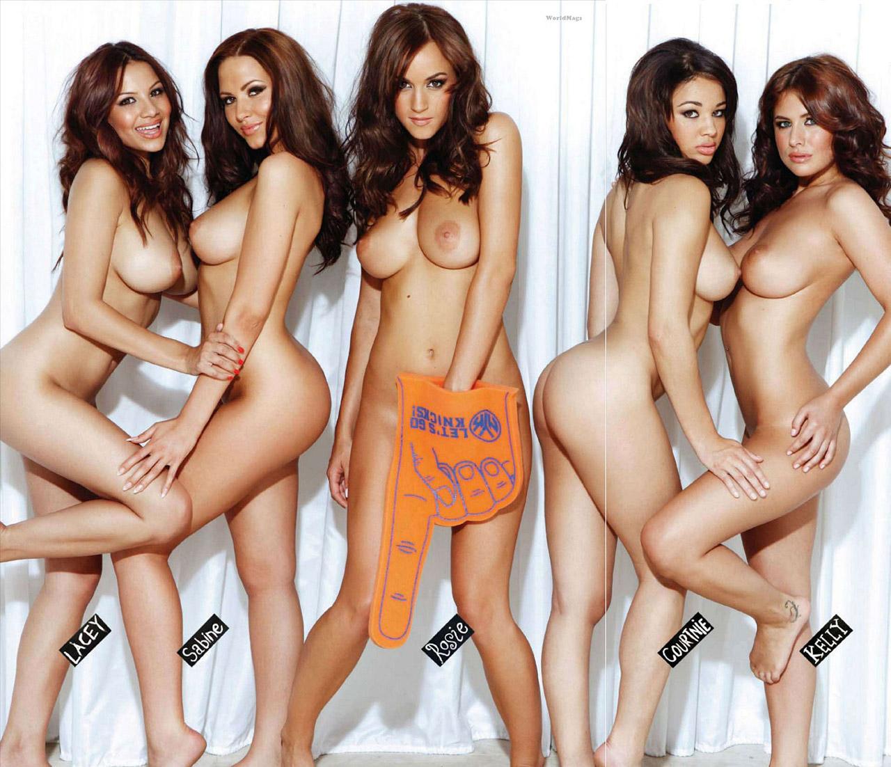 【複数ヌードエロ画像】全裸のお姉ちゃんが並んで立ってるだけで幸せになれるwww 12