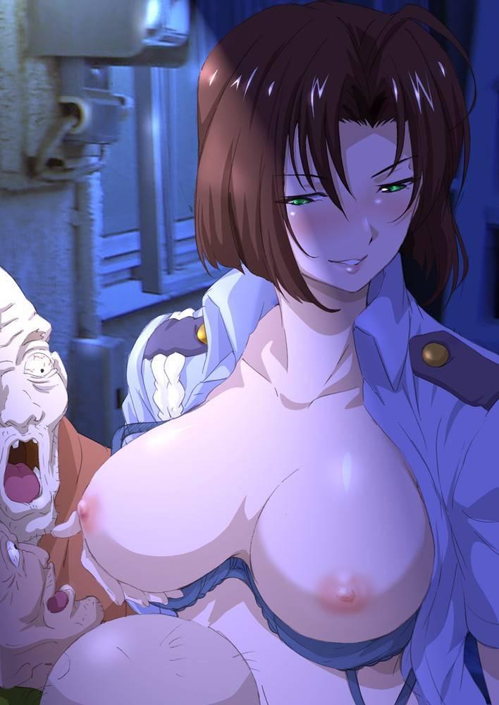 【婦警エロ画像】ついでに俺の股間も取り締まっていただきたい婦警さんのイラストまとめ! 15