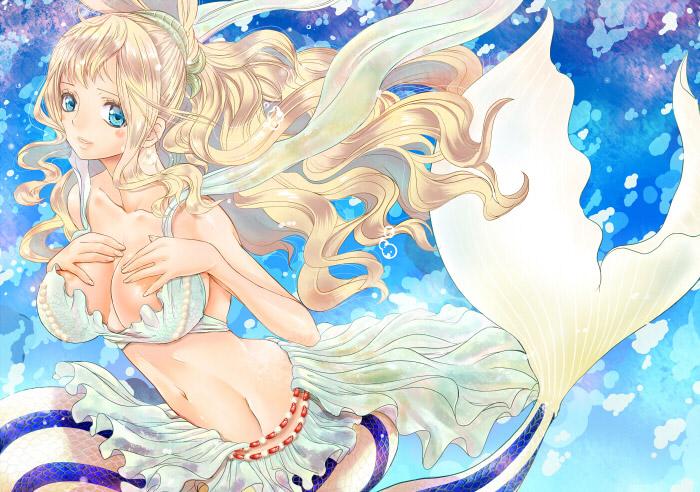 【人魚エロ画像】マーメイドとのセックスは色々と悩ましいけど美しいからオールOK!w 15