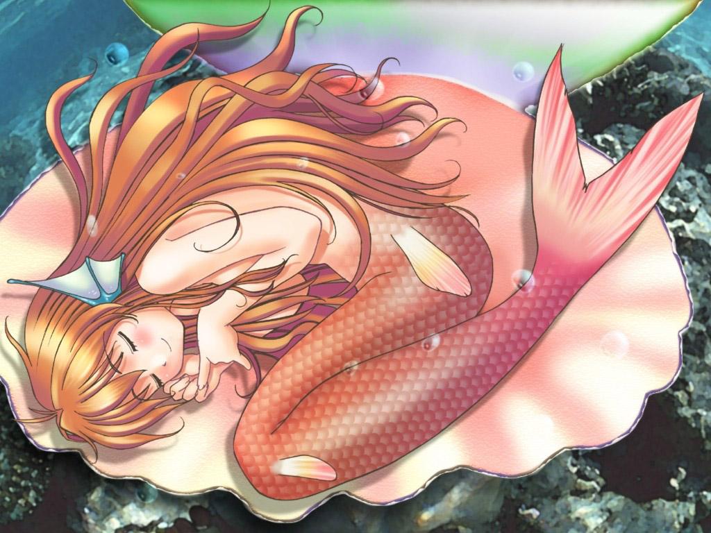 【人魚エロ画像】マーメイドとのセックスは色々と悩ましいけど美しいからオールOK!w 37