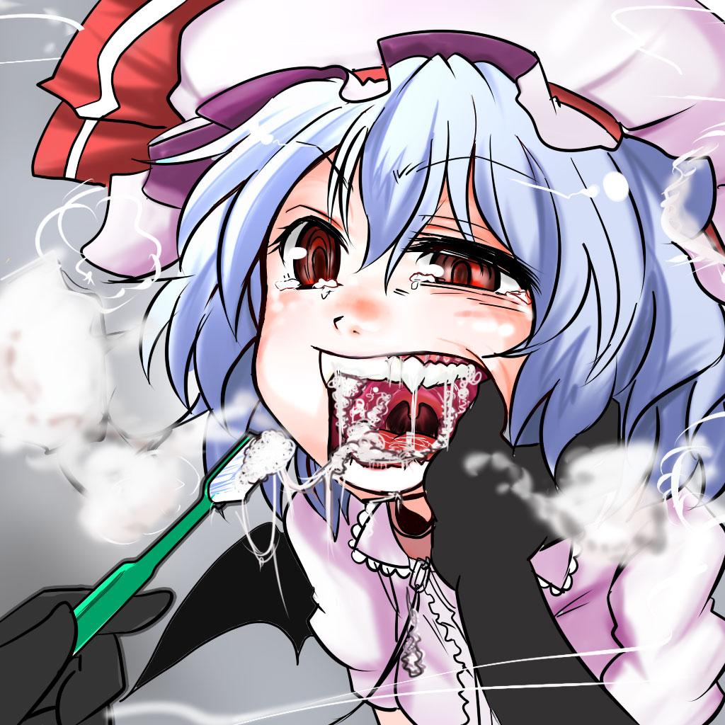 【歯磨きエロ画像】普通に歯を磨いているだけの女の子って萌えるよなwww 04