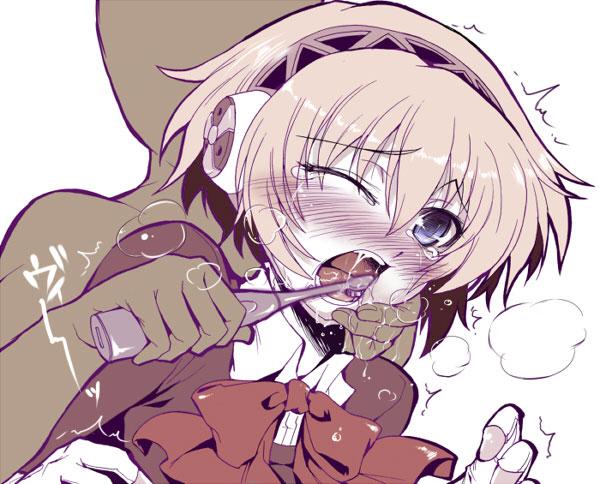 【歯磨きエロ画像】普通に歯を磨いているだけの女の子って萌えるよなwww 14