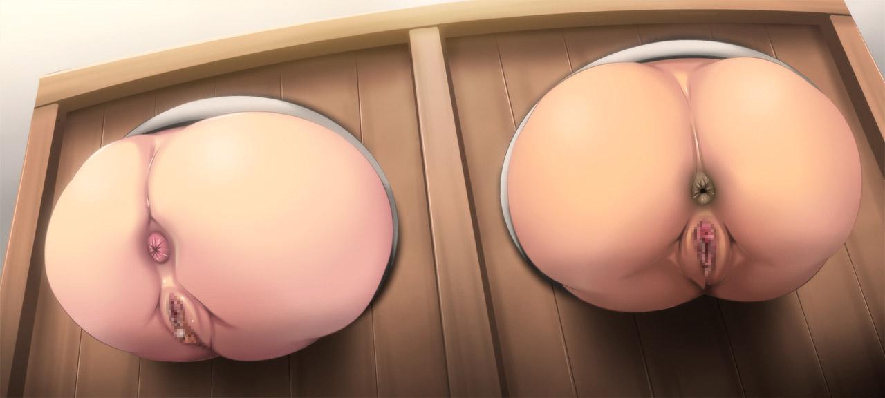 【壁尻エロ画像】エレベーターのアレよりも絶望的な壁を突き破って固定された女の子たちwww 26