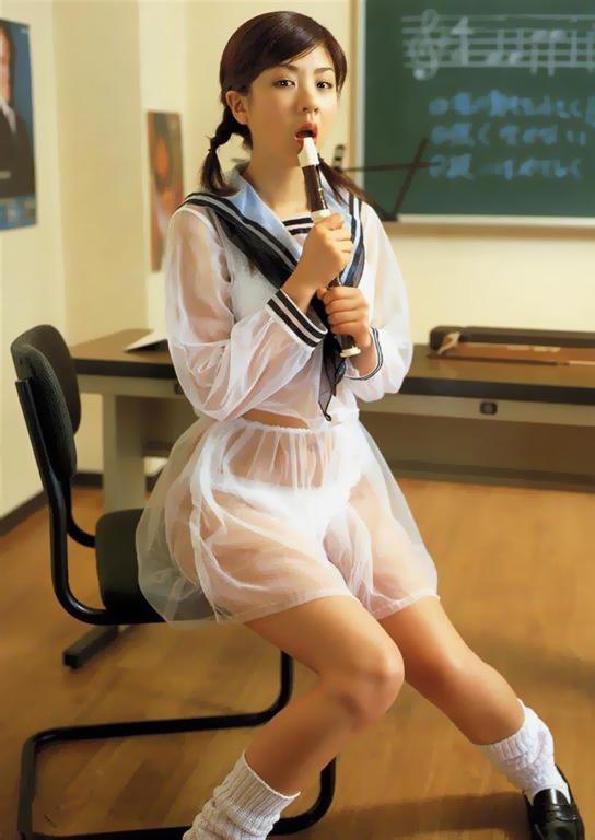 【制服エロ画像】リアルJKは無理でもAV女優がエロのために着てる制服はイケちゃうwww 11