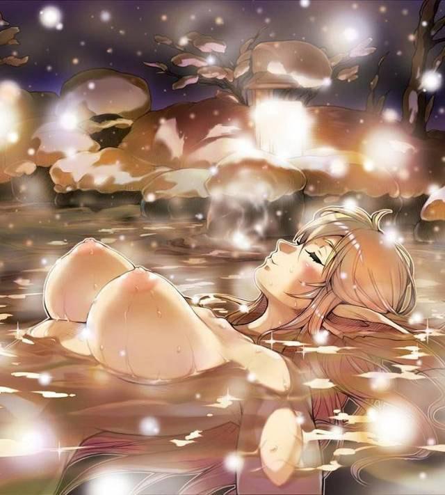 【風呂エロ画像】女の子が風呂に入ってるって聞くとシャワーオナニーを想像してしまう人へ! 17