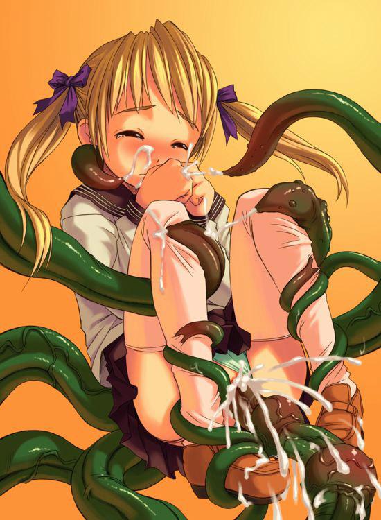 【触手エロ画像】生まれて初めてオナニーのおかずにしたのは触手系のエロマンガでした! 16