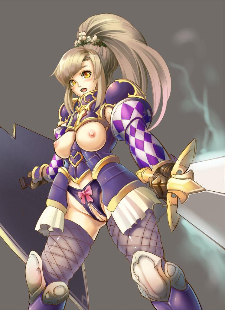 【女騎士エロ画像】誇り高い女騎士が悔しそうに犯されているイラストにS心をくすぐられるwww 28