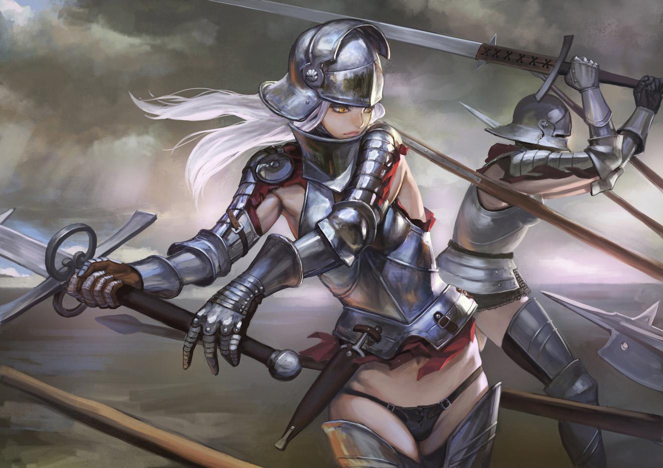 【女騎士エロ画像】誇り高い女騎士が悔しそうに犯されているイラストにS心をくすぐられるwww 45