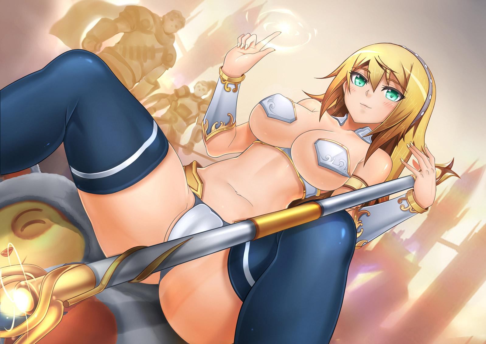 【女騎士エロ画像】誇り高い女騎士が悔しそうに犯されているイラストにS心をくすぐられるwww 47