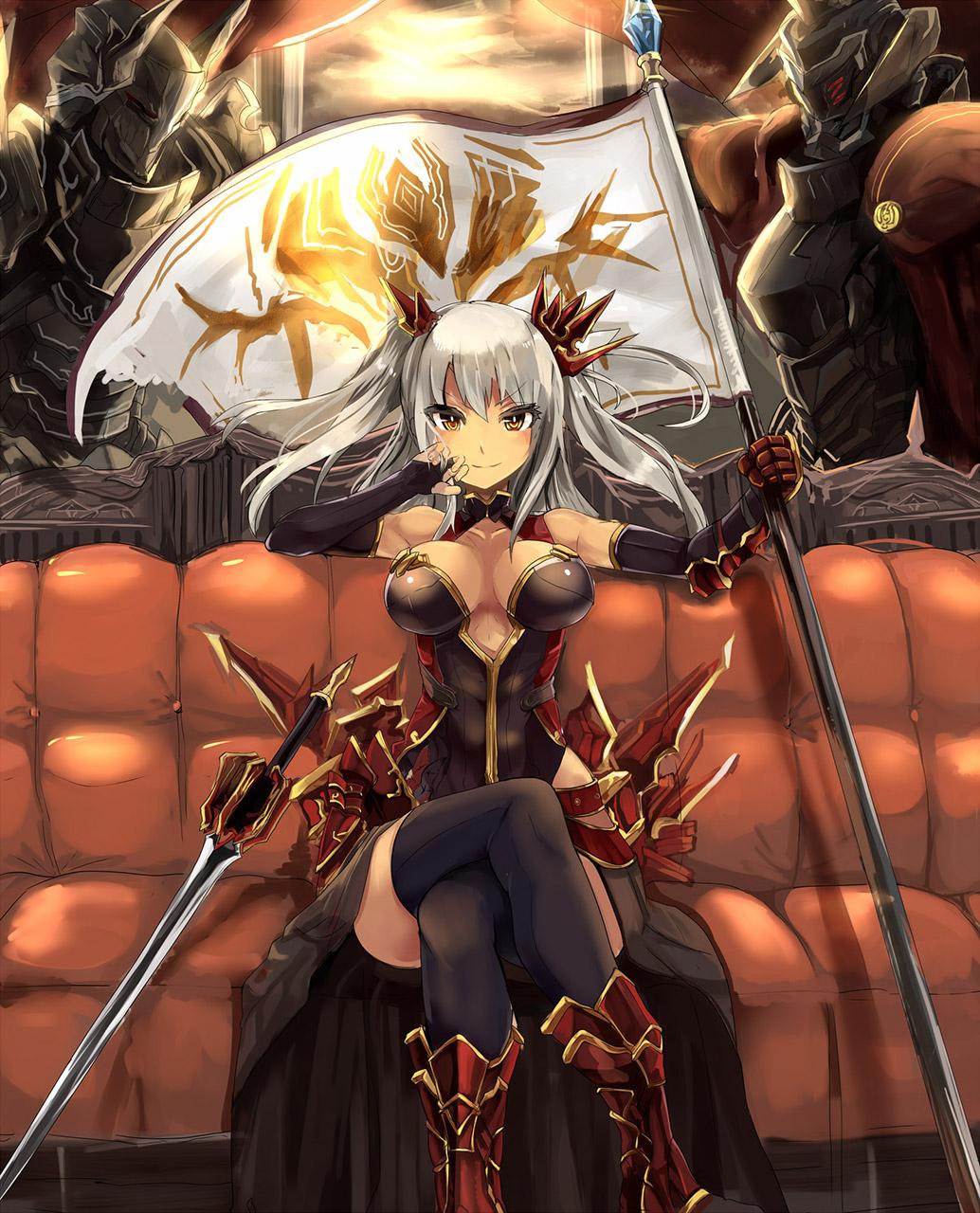 【女騎士エロ画像】誇り高い女騎士が悔しそうに犯されているイラストにS心をくすぐられるwww 48