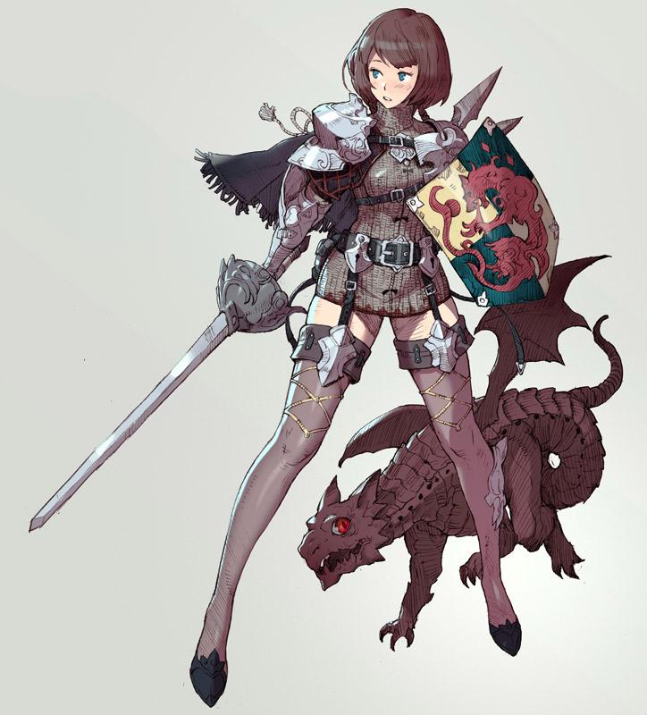 【女騎士エロ画像】誇り高い女騎士が悔しそうに犯されているイラストにS心をくすぐられるwww 50