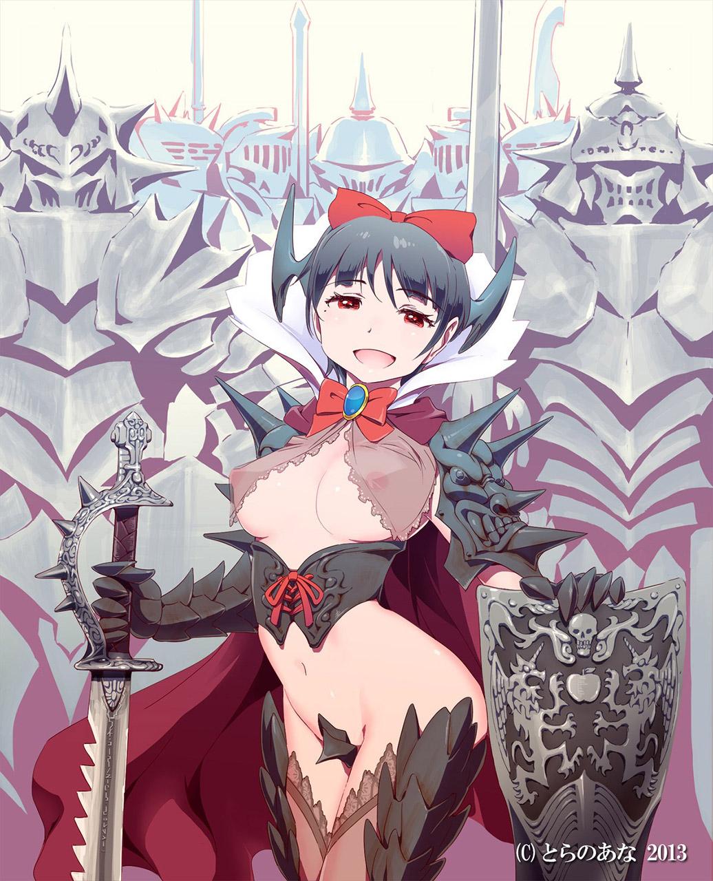 【女騎士エロ画像】誇り高い女騎士が悔しそうに犯されているイラストにS心をくすぐられるwww 53