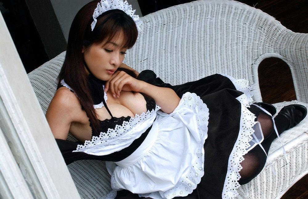 【メイドエロ画像】気がついたら一般化していたメイドという定番コスプレについてwww 09